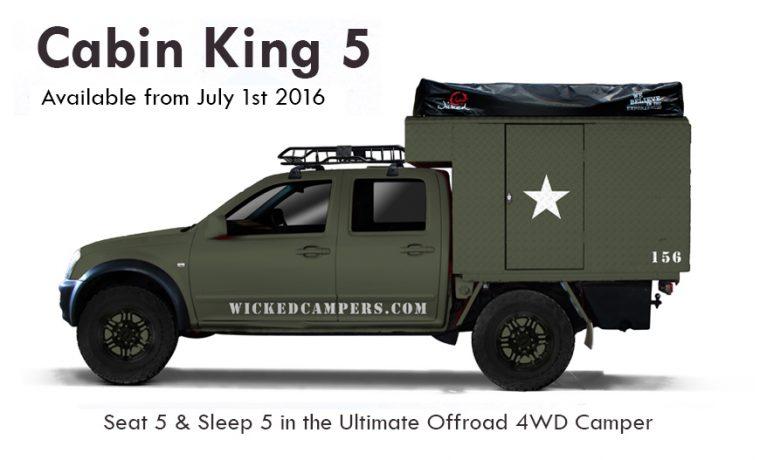 4WD Cabin King 5-Sleeper