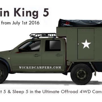 4WD Cabin King 5-Sleeper